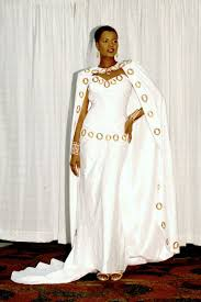 african white pink embroidery laces sleeveless tk style floor gown