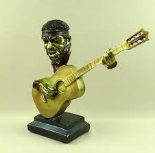 aliexpress buy reminiscent jazz guitarist bust statue resin