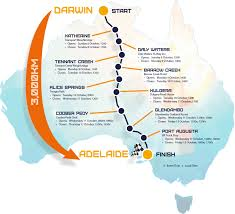 Truck Route Maps Route Map World Solar Challenge 2017