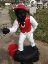 jones another lawn jockey for white gods and goddesses