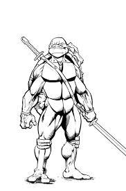 coloring pages ninja turtles leonardo bltidm