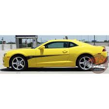 2011 camaro graphics chevy camaro switchblade side door spikes striping