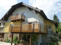 carport mit balkon edelstahlgeländer mit aluminiumlamellen in anthrazit