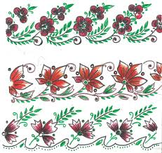 art n craft fabric paint designs