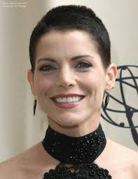 short haircuts for women with clipper lesli kay with clipper cut or buzzed hair