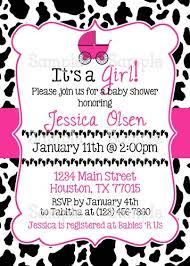 cow baby shower invitations vertabox