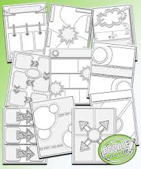 doodle 4 blank sheet templates to make your own doodle notes for your classroom