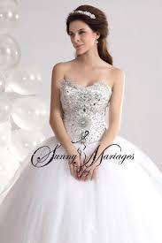 robe de mari e princesse pas cher robe de mariee princesse bustier coeur en strass sur mesures