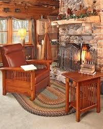 mission style living room furniture amish living room furniture reproducing the mission style product