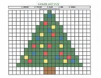 printable christmas graphs kids activity pages graph art fun preschool graphs number and