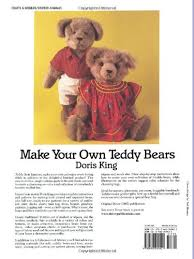 make your own teddy make your own teddy bears and size patterns for
