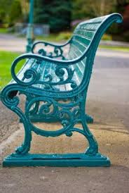 How To Paint Wrought Iron Patio Furniture by Top 25 Best Painted Benches Ideas On Pinterest Picnic Table