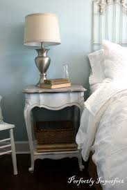 Height Of End Table by Guest Bedroom End Table Makeover Perfectly Imperfect Blog