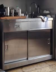 Sink Units Kitchen Metal Kitchen Sink Cabinet Unit Amicidellamusica Info