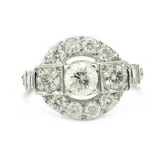 30 best art deco diamond rings images on pinterest art deco