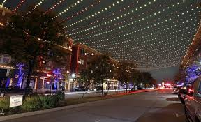 photos a peek at frisco u0027s christmas in the square light