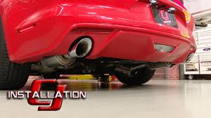 axle back exhaust mustang v6 2015 2017 mustang v6 roush axle back exhaust stainless steel