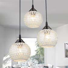 Multi Pendant Lighting Fixtures Light Glass Shade Multi Pendant Light For Living Room
