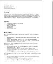 Medical Billing And Coding Resume Sample by Insurance Specialist Resume Sample Samplebusinessresume Com