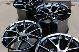 corvette wheels z06 black chrome corvette spyder wheels for c6 z06 and grand sport