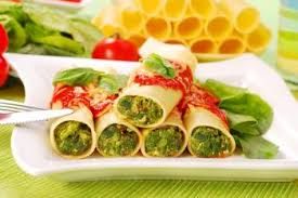 cuisine italienne cannelloni cannellonis à la ricotta et aux épinards recettes de cuisine italienne