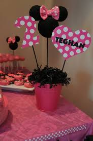 Pink And Black Minnie Mouse Decorations Best 25 Minnie Mouse Party Decorations Ideas On Pinterest