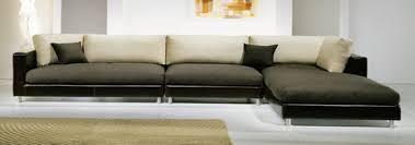 canapé cuir et tissu canapés d angle bâtard et méridienne en tissu et velours canapé inn