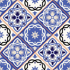 Moroccan Tile by Gorgeous Seamless Patchwork Pattern From Colorful Moroccan Tiles