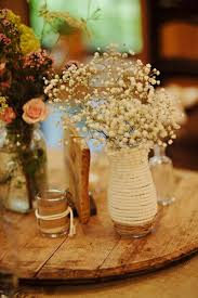 baby s breath centerpiece wedding flowers baby s breath