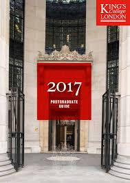 postgraduate guide 2017 by king u0027s college london issuu