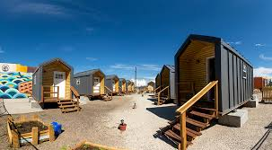 tiny houses for rent colorado it s officially move in day for denver s tiny home village for the