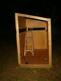 2 Person Deer Blind Plans Dudleys Diary Here Are Some Photos Of The Deer Stand Frank And