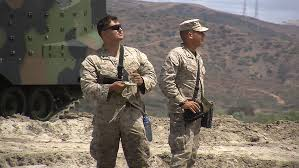 women make history at camp pendleton train for combat roles kpbs