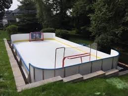Backyard Rink Ideas Wonderful Backyard Rink Ideas Learn More About Hockey Rink Boards