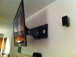 installing wall mount tv hanging a tv wall mount home design