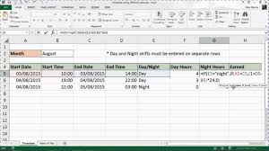 how excel timesheet template with overtime to make a weekly