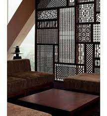 intricate wood room divider from ikea a set of living furniture