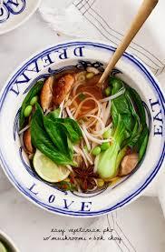 Soup Kitchen Menu Ideas Easy Vegetarian Pho Recipe Love And Lemons