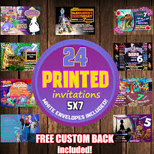 Invitation Printing Services Printing Invitations Set Of 24 Invitation Printing Services