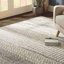 ivory rugs mistana danny gray ivory area rug reviews wayfair