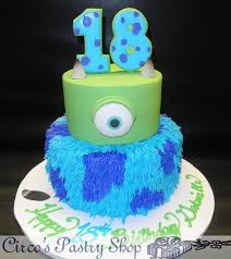 monsters inc birthday cake birthday cakes custom fondant cakes page 62