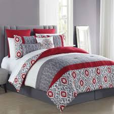Black And Red Comforter Sets King Buy Black And Red Comforter From Bed Bath U0026 Beyond