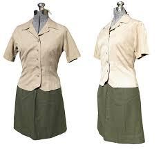 1940s Halloween Costume Vintage Wwii Women U0027s Marine Uniform Usmc Army Military