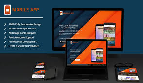 mobileapps responsive html mobile app landing page template olanding