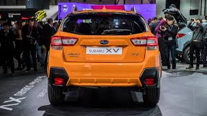 crosstrek subaru orange 2018 subaru crosstrek debut from the 2017 geneva motor show