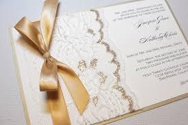 gold ivory lace wedding invitations u2013 wedding invitation ideas