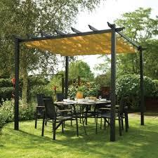 Sunshade Awning Gazebo Gazebos U0026 Pergolas Shop The Best Deals For Nov 2017 Overstock Com
