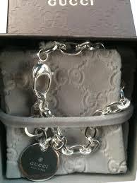 silver monogram bracelet gucci silver monogram bracelet tradesy