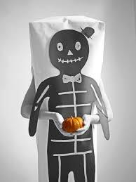 Halloween Skeleton Shirt by Hello Wonderful Make An Easy Paper Halloween Skeleton Costume