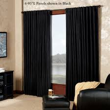 Black Out Curtain Panels Absolute Zero Eclipse Home Theater Blackout Curtain Panels
